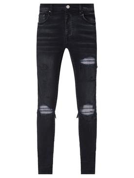 MX1 Iridescent Jean Aged Black