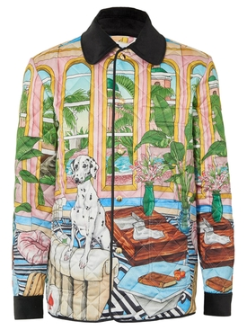 Dream House Printed Quilted Hunting Jacket