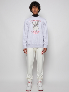 Embroidered Sweatpant Off-White