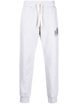 Embroidered Sweatpant Grey Marl