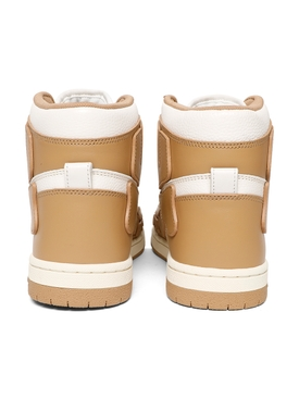 SKEL HIGH-TOP SNEAKER TAN