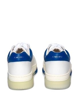 STADIUM LOW-TOP SNEAKER WHITE AND BLUE
