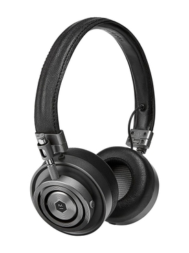 Premium Leather On-Ear Headphones