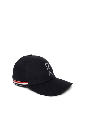 Icon Figurine embroidery baseball cap black
