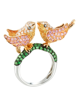 Twin Bird Ring