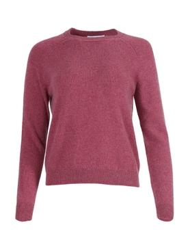 Mila cashmere crewneck sweater PINK