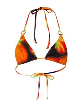 Mini Ring triangle bikini top