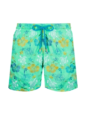 Tropical Turtles Swim Trunks