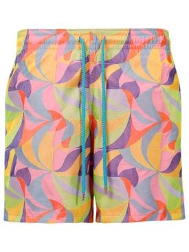 Mistral Swim Shorts, Rose Shocking
