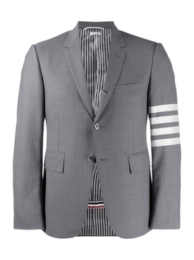 CLASSIC SPORT 4-BAR COAT, MEDIUM GREY