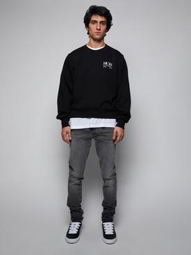 Bandana stars sweatshirt, black
