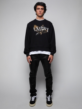 Eagle Crewneck Sweatshirt, Black