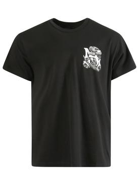 Snake t-shirt, black