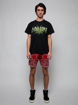 Cannabis diagram t-shirt, black