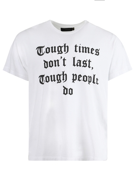 Tough Times Don't Last T-shirt, white
