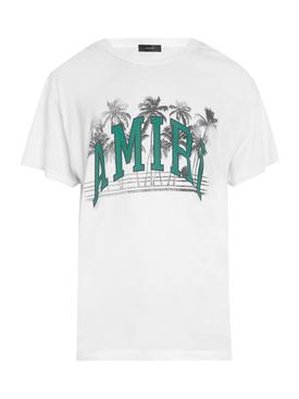 Varsity palms t-shirt, snow