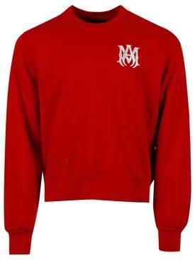 MA Crewneck Sweater, Red