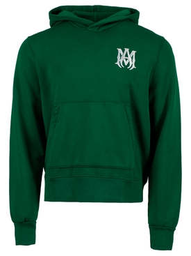MA Fitted Hoodie, Tennis Green