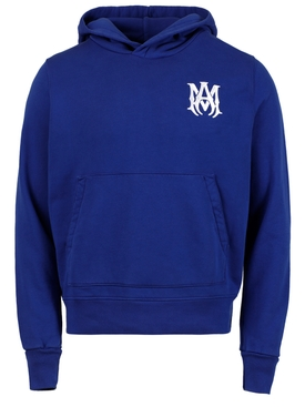 MA Fitted Hoodie, Varsity Blue