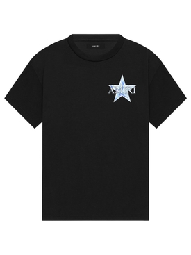 PAISLEY STAR TEE BLACK