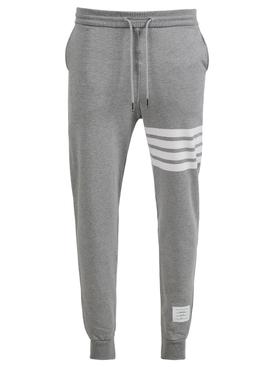 Classic 4-Bar Sweatpants LIGHT GREY