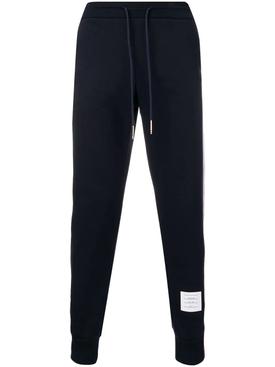 Classic Loopback Sweatpants With Rwb Side Stripes NAVY