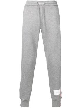 Classic Loopback Sweatpants With Rwb Side Stripes LIGHT GREY