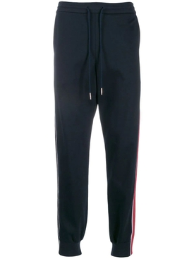 Contrasting Side Stripe Jogger Pants NAVY