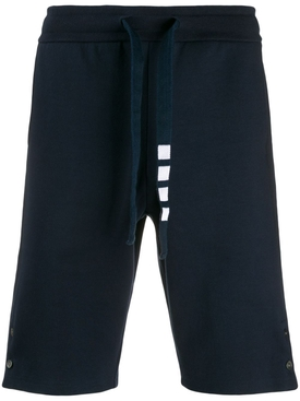 4-BAR TRACK SHORTS NAVY