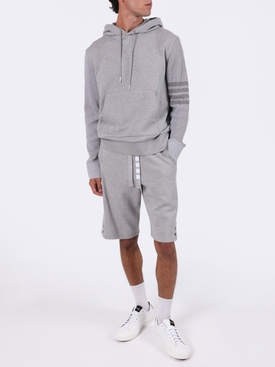 4-BAR TRACK SHORTS LIGHT GREY