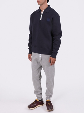 4-BAR DRAWCORD SWEATPANTS LIGHT GREY