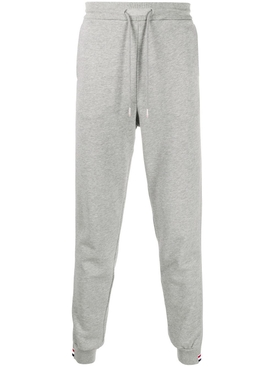 Tri-Color stripe sweatpants LIGHT GREY