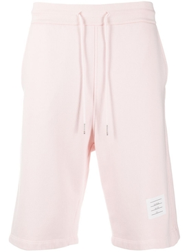 GARMENT DYED SWEAT SHORTS LIGHT PINK