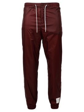 DRAWSTRING FLYWEIGHT RIPSTOP TRACK PANTS DARK RED