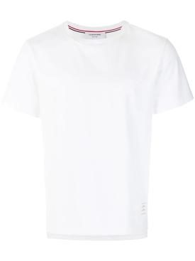 side slit relaxed t-shirt WHITE