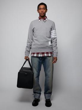 Classic 4-bar sweatshirt LIGHT GREY