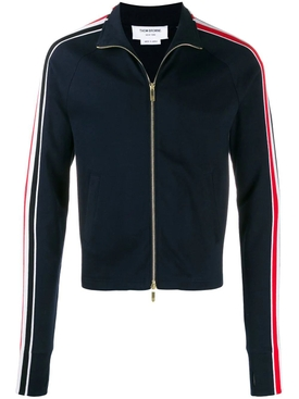 Thom Browne - Classic Stripe Track Jacket Navy - Men