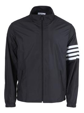 4-bar zip-up tech jacket CHARCOAL