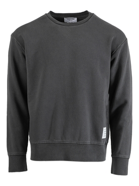 Garment Dyed Crewneck Sweatshirt MEDIUM GREY