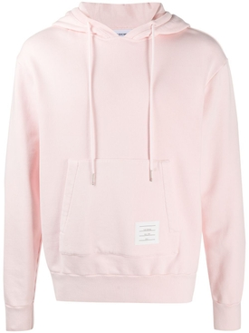 GARMENT DYED HOODIE PULLOVER LIGHT PINK