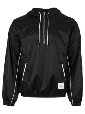 Half zip anorak jacket Navy