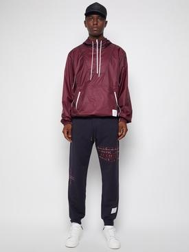 Half zip anorak jacket Dark Red