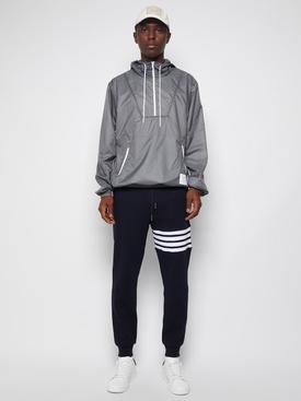 Half zip anorak jacket Silver