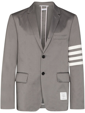 Cotton 4-bar Unconstructed Sport Coat MEDIUM GREY