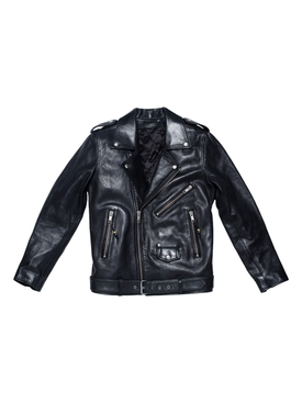 LEATHER JACKET 5, Black