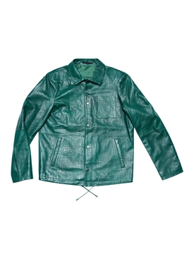 LEATHER JACKET 55, Emerald Green