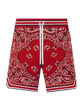 Bandana B-Ball shorts, Red