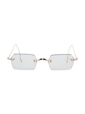 BANZAI RIMLESS SQUARE SUNGLASSES GREY
