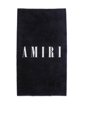 SMALL LOGO TOWEL Blue and White