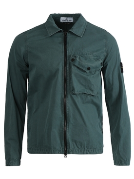 Classic Zip-Up Jacket PETROLEUM BLUE